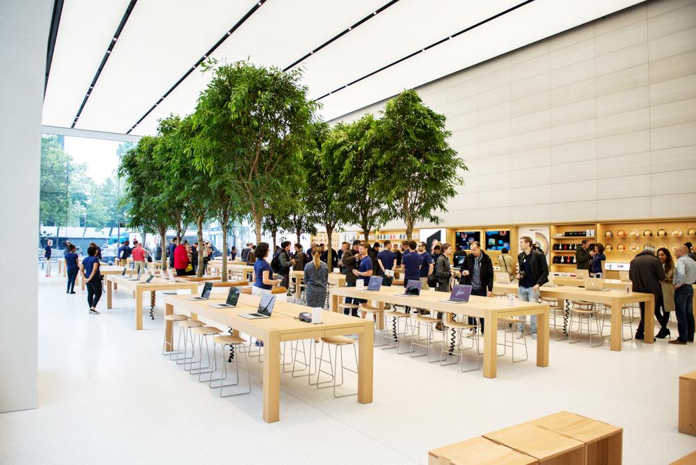 Ouverture Apple Store Bruxelles
